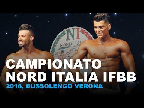 Nord Italia IFBB Bodybuilding Championship 2016, Bussolengo Verona