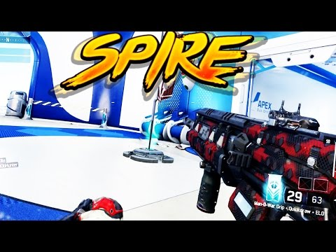 "NEW ECLIPSE DLC ""SPIRE GAMEPLAY"" in Black Ops 3 - BO3 DLC 2 GAMEPLAY"