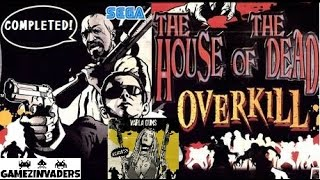 House Of The Dead OverKill COMPLETED!! Arcade Shooter Full Playthrough!