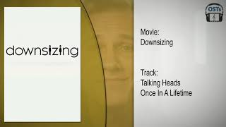 Downsizing Trailer Teaser | Soundtrack | Talking Heads - Once In A Lifetime