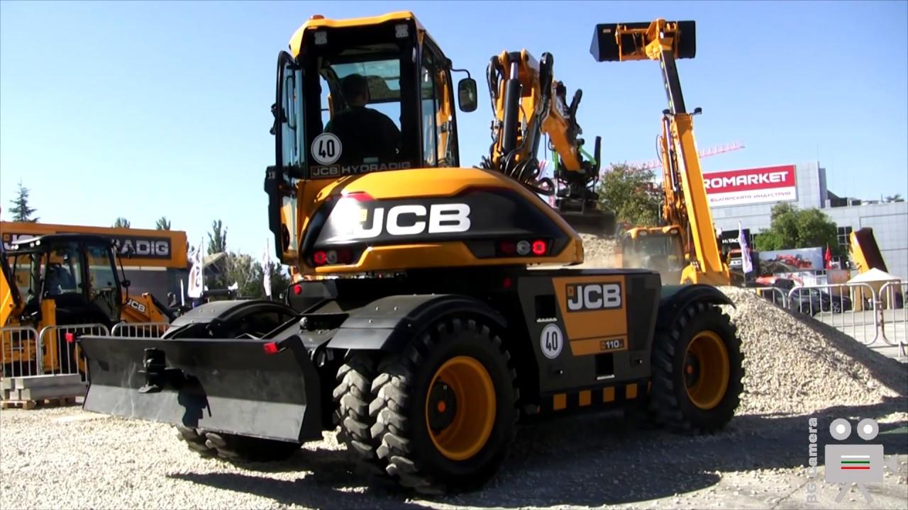JCB 3CX Diggers at Work - ECO Backhoe Loader & JCB Hydradig Wheel Excavator  - JCB CML