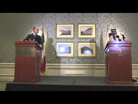 Qatar - Letta e Mohammed Bin Saleh Al Sada (03.02.14)