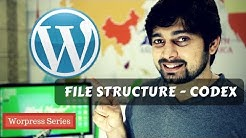 Exploring WordPress File structure and wordpress Codex
