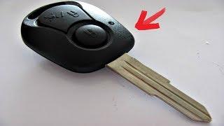 Как заменить батарейку в автомобильном ключе SsangYong
