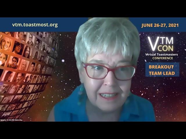 July 5, 2021 Replay - Online Presenters Toastmasters