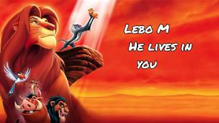 Lion King 2 | He lives in you (1 HOUR extended) Lebo M