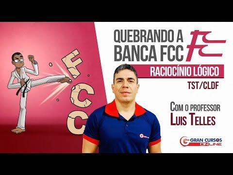 Projeto Quebrando a banca FCC | Raciocínio Lógico com o Professor Luis Telles