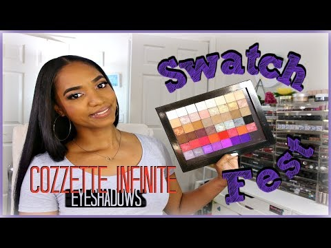 swatch-fest-&-review-|-cozzette-infinite-eyeshadows...best-colorful-shadows!!!
