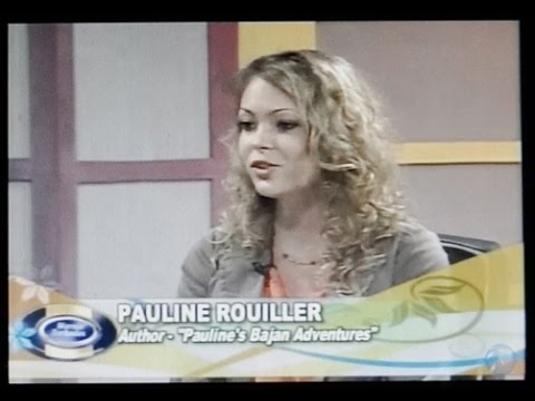 Pauline Rouiller on CBC TV, Mornin' Barbados for Pauline's Bajan Adventures