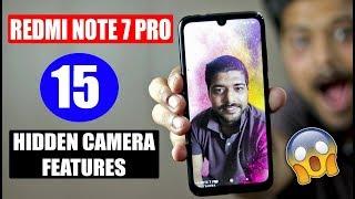 Redmi Note 7 Pro 15 Hidden Camera Features - DHAANSU FEATURES!!