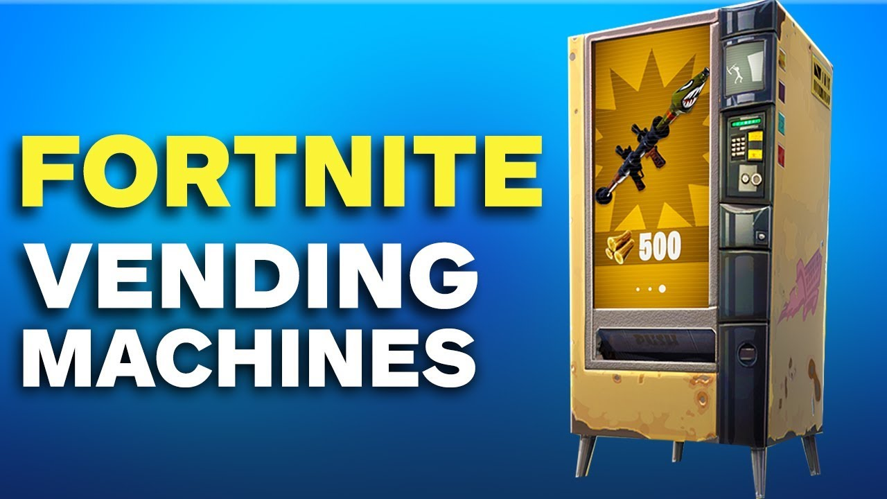Fortnite: How to Find a Vending Machine in Battle Royale