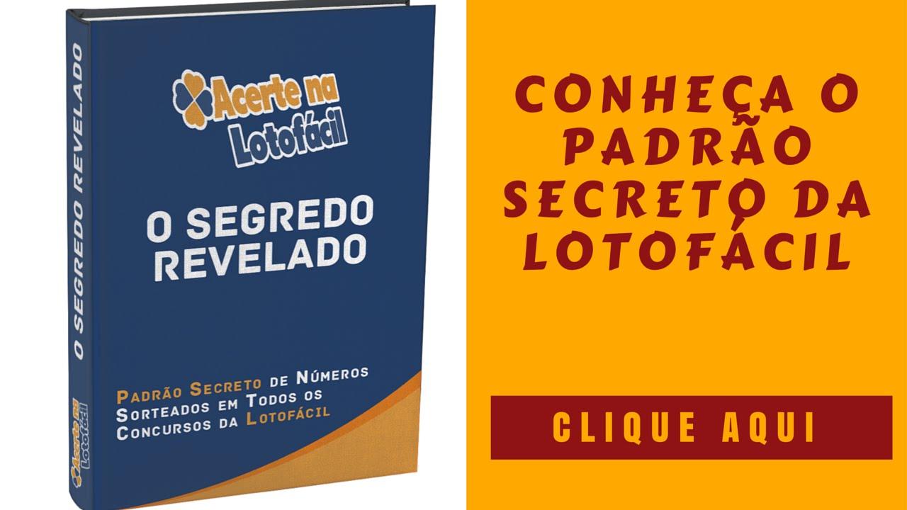 o maior segredo da lotofacil