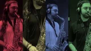 Sax Quartet - Cowboy Bebop Cover