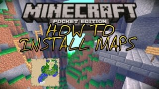 Minecraft PE: How to install maps Android/iOS