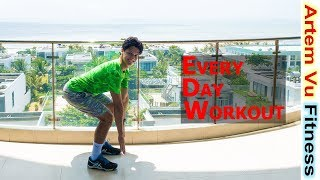 5 minute Full Body Workout at Home For Everyone #ArtemFitness