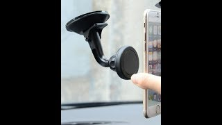 Universal Magnetic 360° rotary phone mount from wish.com REVIEW