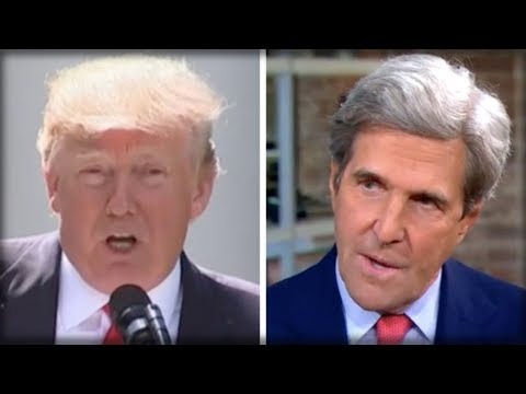 DISGRACED! JOHN KERRY WILL HIDE HIS FACE IN SHAME AFTER THIS UNFORGIVABLE ATTACK ON TRUMP
