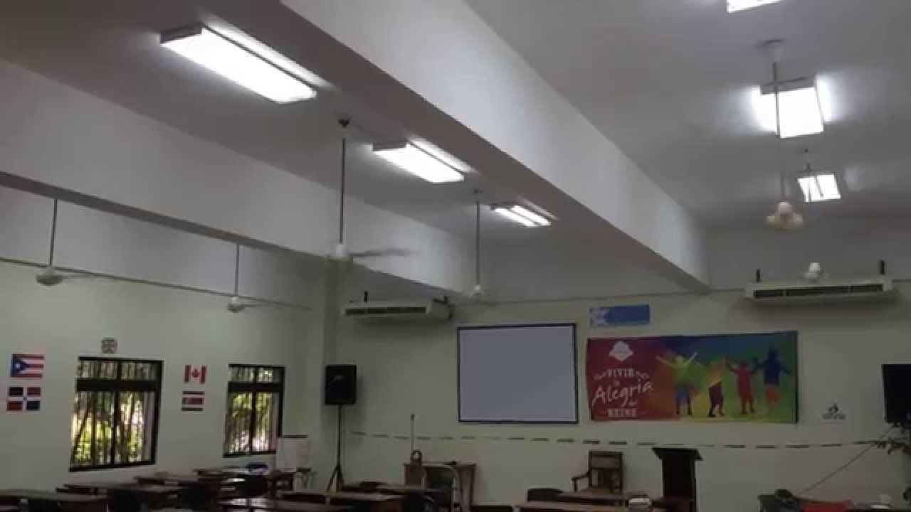 12 Kdk Fans In Church Classroom Youtube