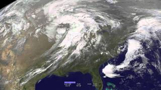 Strong Extratropical Cyclone Over the US Midwest, October 25-27, 2010