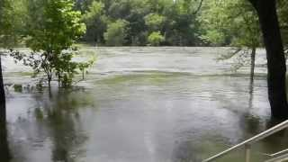 Ouachita River Flooding, May 31st, 2013 Malvern, AR #ARWX