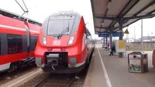 DB-Regio Nordost - Der Bahnhof Cottbus [1080p-HD]
