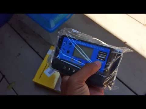 Amazon Mohoo PWM 20A solar charge controller