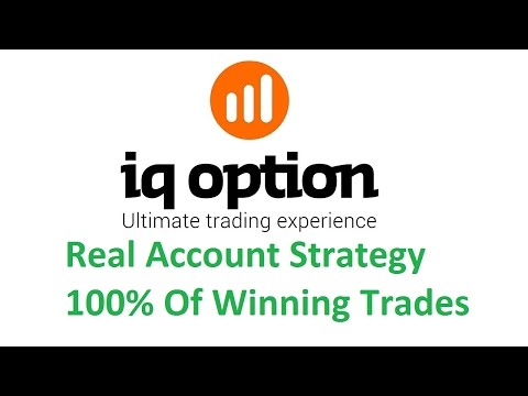 IQ Option Binary Real Account win everytime trading strategy - elite60x indicator profitable 2017