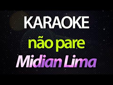 NÃO PARE - Midian Lima Sing with Us - Instrumental Karaoke