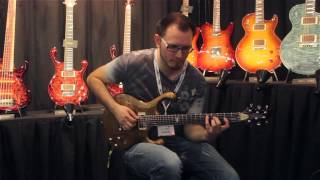 Tom Quayle Signature Fibenare Erotic Guitar Demo
