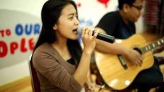 DIA - REZA (Cover by Pamela, Ogie & Greddy)