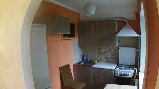 Бюджетный ремонт кухни за 10 минут. Старая чешка, перепланировка.