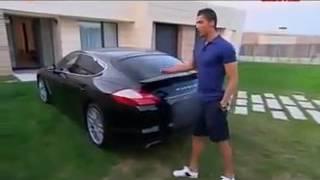 Cristiano Ronaldo montre sa maison
