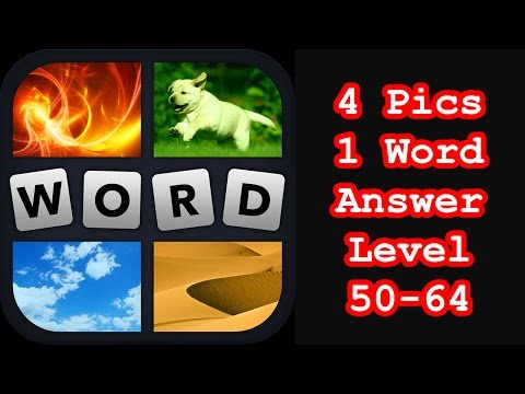 4 Pics 1 Word - Level 50-64 - Find 3 Foods! - Answers Walkthrough