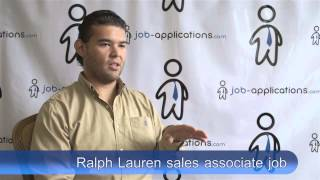 Ralph Lauren Interview - Sales Associate