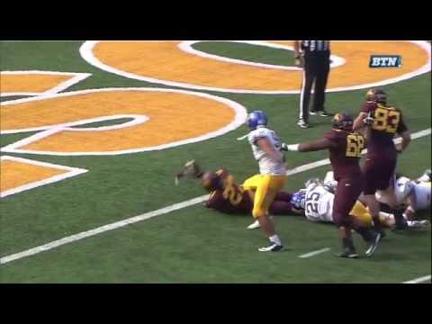 David Cobb - Minnesota Football - HB - 2014 San Jose State Game