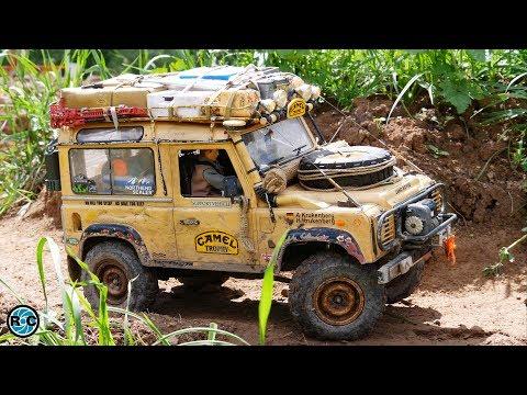 RC Land Rover Defender Camel Trophy -  SuperScale 2019