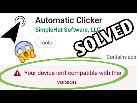 How to install automatic clicker in any mobile phrase error problem solved by saim technical