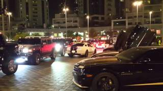 Super Cars Electrify The Streets Of Bay Avenue, Dubai