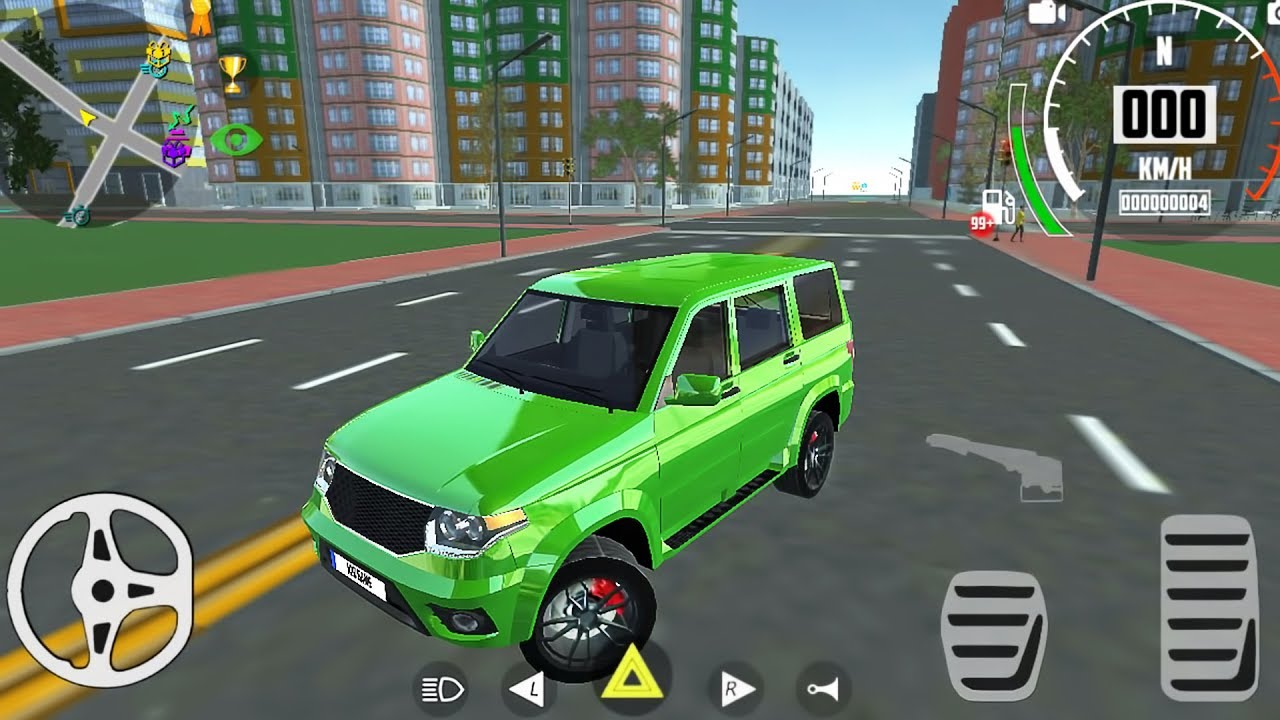 Offroad Car Prado Driving Simulator Police Jeep Drive Android