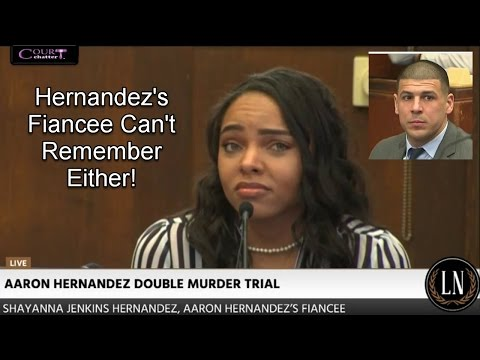 Aaron Hernandez Trial Day 20 Part 1 (Shayanna Jenkins Hernandez Testifies) 03/30/17