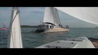 Catamaran sailing from Phuket / Thailand on SY Bohemian