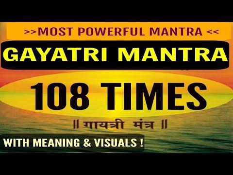 GAYATRI MANTRA CHANTS 108 TIMES with scientific meaning   by Sukruti Duvvuri