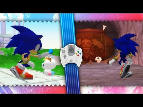Repeat Sonic Adventure 2 ✪ Dreamcast Chao Gardens Mod by