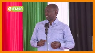 DP William Ruto warns against politics of division