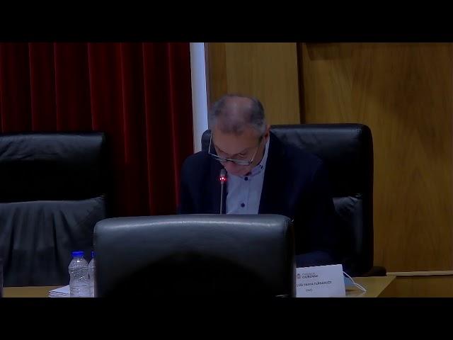Pleno ordinario Concello de Ourense 2-10-20
