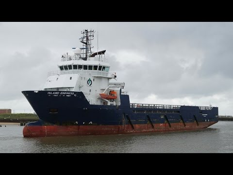 offshore supply vessel ISLAND EMPRESS at Great Yarmouth 18/6/16