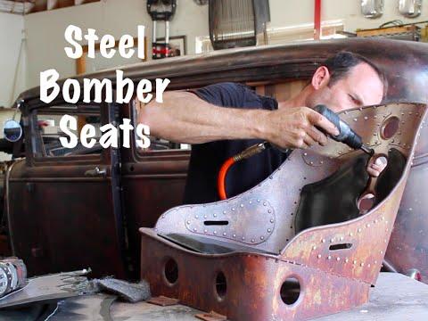 Steel Bomber Seats Youtube