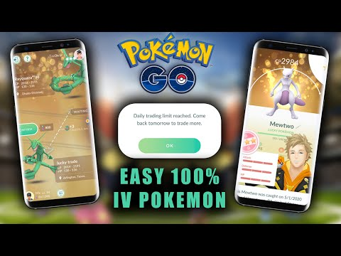 HOW TO GET EASY 100% IV&39;s IN POKEMON GO (TRADING EXPLAINED)