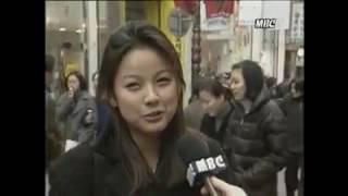 (90년동영상)데뷔전 일반인 고3이효리 뉴스 인터뷰ㅋㅋ