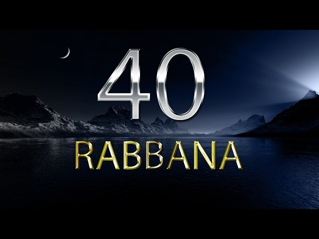 40 GRATUIT RABBANA LES TÉLÉCHARGER